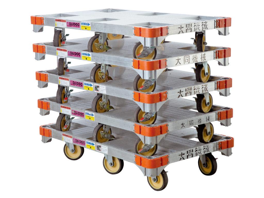 楽輪車積み重ねイメージ